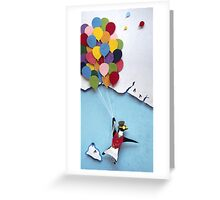 First Flight Greeting Card