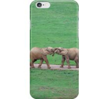 Youngsters bonding iPhone Case/Skin