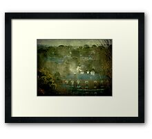 A Winter's Afternoon in Town - Uralla, NSW, Ausralia Framed Print