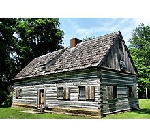 Gray Cottage Photographic Print