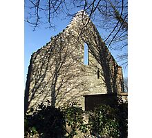 Dysert o Dea church gable Photographic Print