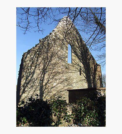 Dysert o Dea church gable Photographic Print