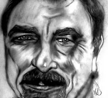 Tom Selleck by Herbert Renard