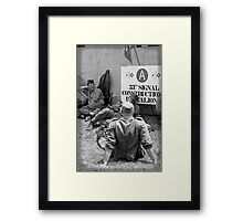 WWII day Framed Print