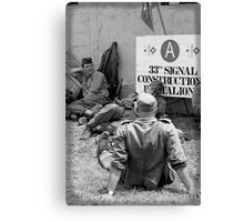 WWII day Canvas Print