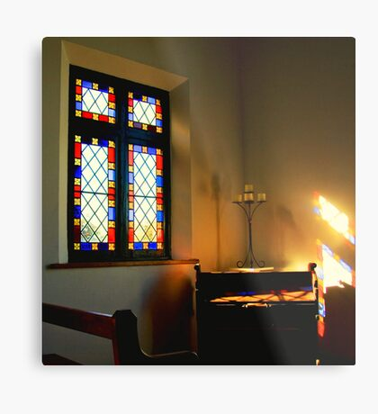 Organ Light Metal Print