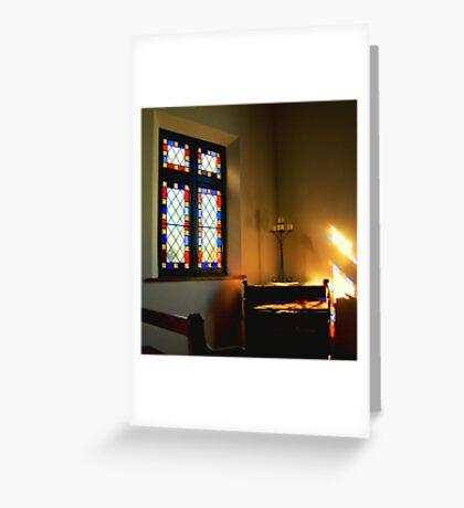 Organ Light Greeting Card
