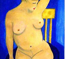 Nude La Douche oil painting by coolart