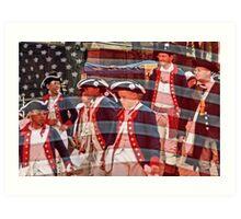 Young Patriots Art Print