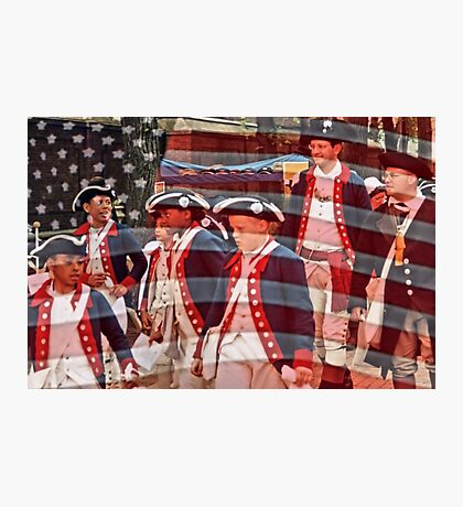Young Patriots Photographic Print