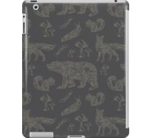 Shafted Woodlands - Gray iPad Case/Skin