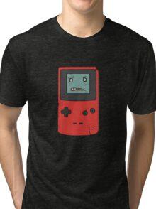 CreepyBoy Color Red Tri-blend T-Shirt