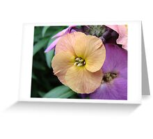 Delicate yellow Greeting Card