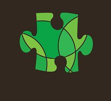 Green puzzle piece Unisex T-Shirt