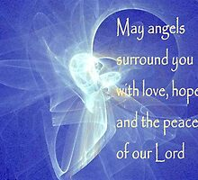 May Angels Surround You by Marie Sharp