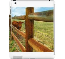 Training..Keeper of the Fence iPad Case/Skin