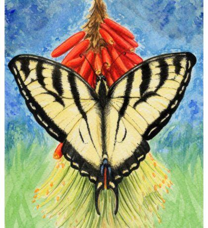 Swallowtail Sticker