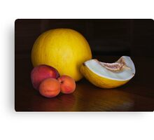 Fruit on the table Canvas Print