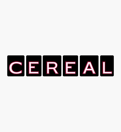 Cereal, the Podcast Photographic Print