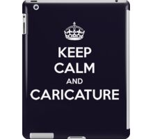 charlie hebdo - keep calm and caricature iPad Case/Skin