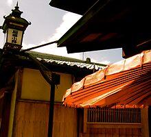 kyoto streetscape by geikomaiko