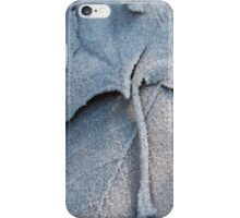 Frosted Leaf © iPhone Case/Skin