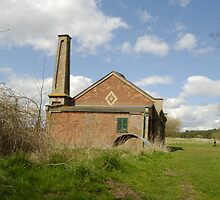 Pump House West Stow by John Newson