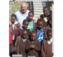 Stand By Me Ethiopia Bethany School. iPad Case/Skin