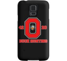 Ohio State Duck Hunting Samsung Galaxy Case/Skin
