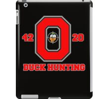 Ohio State Duck Hunting iPad Case/Skin