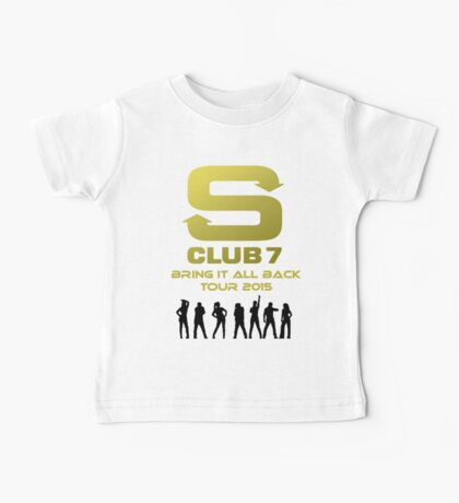 S Club 7 Bring It All Back Tour 2015 Baby Tee