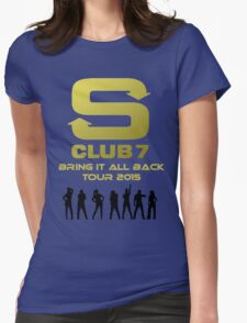 S Club 7 Bring It All Back Tour 2015 Womens Fitted T-Shirt