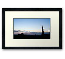 White nights panorama Framed Print