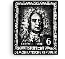 Georg Friedrich Händel (DDR 1952) Canvas Print