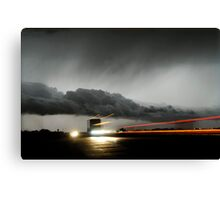 Storm Truckers Canvas Print