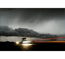 Storm Truckers Photographic Print