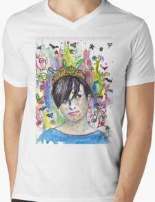Queen  Mens V-Neck T-Shirt