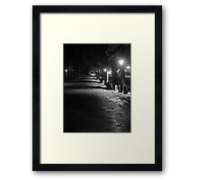 Road to Cathedral Framed Print