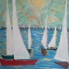 Dar es Salaam - Sailing Regatta (East Africa) by Teresa Dominici