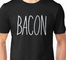 Bacon (White) Unisex T-Shirt