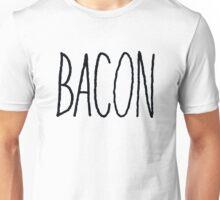 Bacon (Black) Unisex T-Shirt
