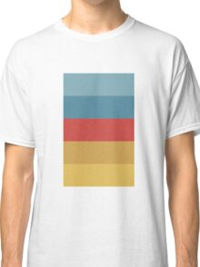 Wes Anderson Palette (The Life Aquatic with Steve Zissou) Classic T-Shirt