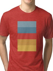 Wes Anderson Palette (The Life Aquatic with Steve Zissou) Tri-blend T-Shirt