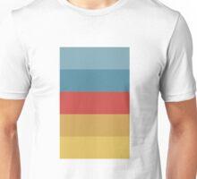 Wes Anderson Palette (The Life Aquatic with Steve Zissou) Unisex T-Shirt