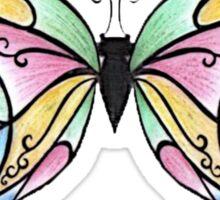 Butterfly Fly Away Sticker