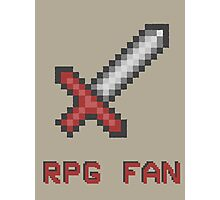 RPG FAN Sword Photographic Print