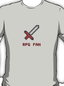 RPG FAN Sword T-Shirt