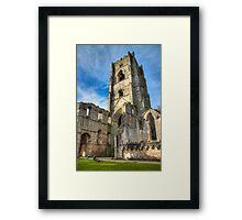 Fountains Abbey Ruins Framed Print