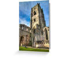 Fountains Abbey Ruins Greeting Card