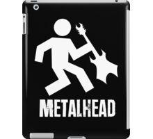 Metalhead Tshirt iPad Case/Skin